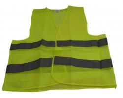 Жилет безопасности светоотражающий зеленый Poputchik (05-001)