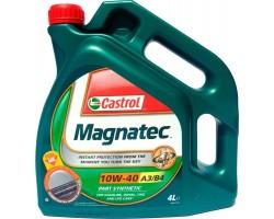 Масло моторное Castrol Magnatec 10W-40 A3/B4 (4л)