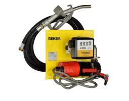 Минизаправка Benza на планшете для ДТ 80 л/мин 220В без шланга и пистолета