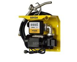 Минизаправка Benza с козырьком для ДТ 100 л/мин 220В