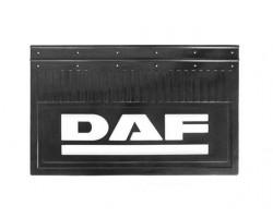 Брызговик резиновый с объемым рисунком для грузовых автомобилей DAF (645Х205) комплект 2 шт.
