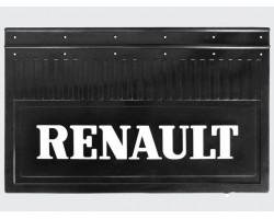 Брызговик резиновый с объемым рисунком для грузовых автомобилей RENAULT (645Х205) комплект 2 шт.