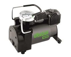 Автомобильный компрессор URAGAN (90130) 37 л/мин 12В, 7 Атм, прикуриватель, шланг 1м