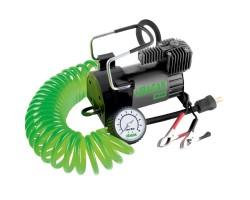 Автомобильный компрессор URAGAN (90140) 40 л/мин, кабель 5.7 м, манометр