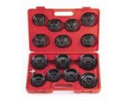 Комплект чашек для съёма масляных фильтров 16 предметов (A2094)