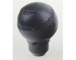 Ручка коробки передач декоративная Vitol (F 250114 BK) AX-J2363 черная кожа
