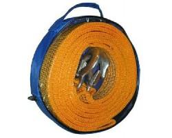 Трос буксировочный ST206B TP-209-5-1 5т лента 50мм х 6м. оранжевый. 2 крюка. сумка Vitol