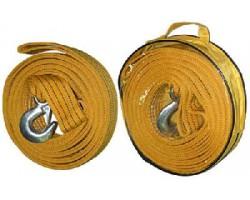 Трос буксировочный ST206B TP-211-5-0 5т лента 50мм х 6м. оранжевый. 1 крюк. сумка Vitol
