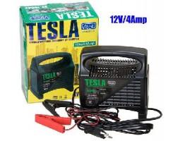 Зарядное устройство TESLA ЗУ-10642 12V 4A 10-60AHR светодиодный индикатор