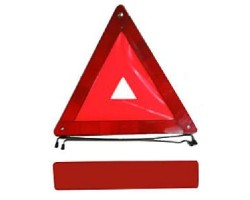 Знак аварийный ЗА 002 (VITOL CN 54001 109RT109), усиленный, пластиковая упаковка