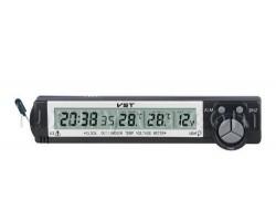 Термометр-часы-вольтметр-подсветка VST 7043V