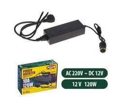 Преобразователь напряжения PULSO/IM-120/АС-DC 220V-0.6A/12V-10A/120W