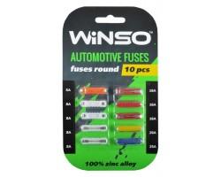 Предохранители WINSO цилиндрические, 10шт. (155300)